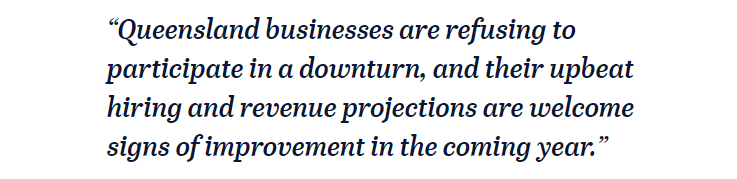 Quote about qld business